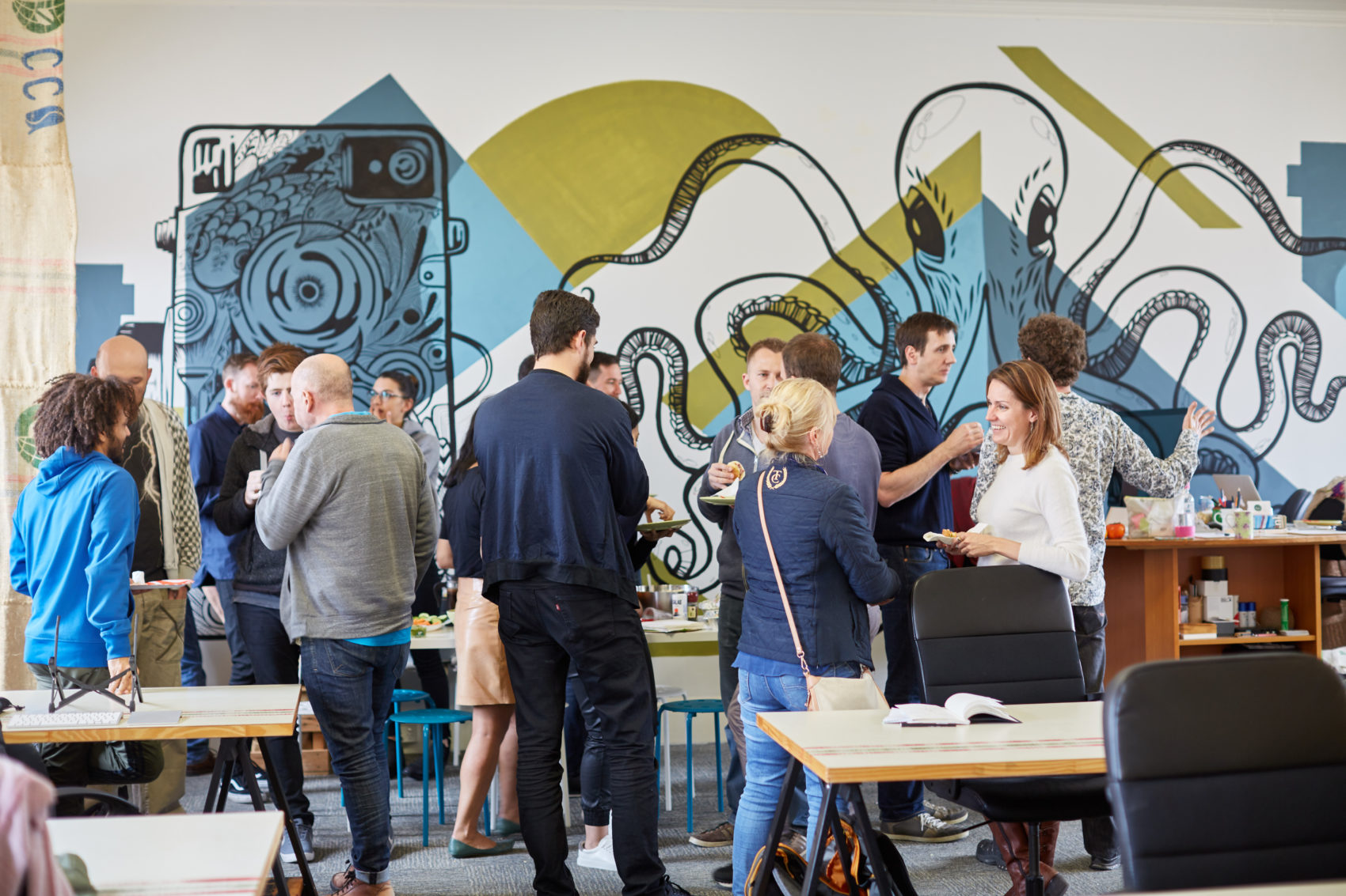 fSpace co-working space in the Princess Chambers Building, Market Street, Fremantle | Photo Credit: Sabine Albers