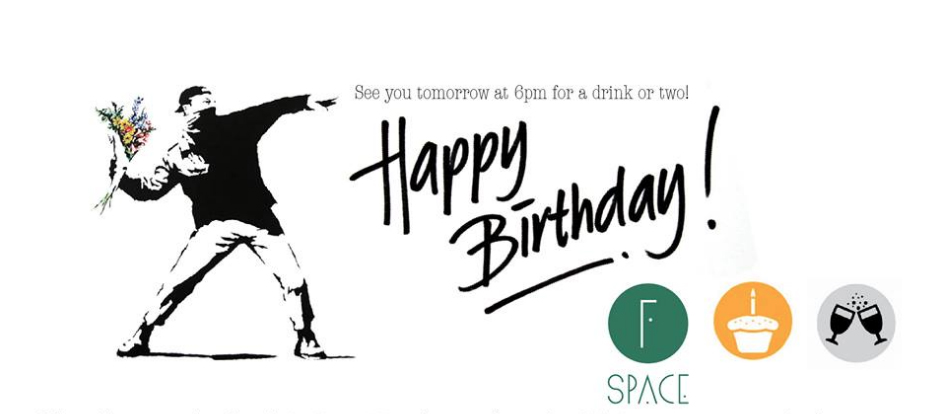 fSpace 1st Bday YAY!