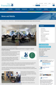 MEDIA - COF website Feb 2016